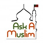 Ask A Muslim logo. Via the project's Facebook page.