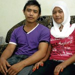 Mohammad Fahmi Alias and Nor Fazira Saad. [Source].