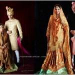 Kareena Kapoor & Saif Ali Khan (left) and Sharmila Tagore & Mansur Ali Khan (right)