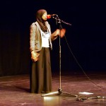 Sarah Musa performing. [Source].