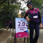 Running for Boston in Jakarta