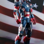 An Iron Man 3 action figure.
