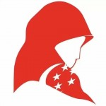 Facebook image created by anonymous artist to show solidarity with Singaporean Muslim women. Source. LINK TO BE ADDED.