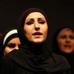 "Syrian refugee women performed the play ""The Syria Trojan Women"" last week in Amman, Jordan. Image by Muhammad Hamed/Reuters"