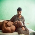 Aid, a body builder, and his mother by Denis Dailleux - via World Press Photo.