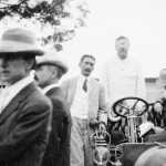 Theodore Roosevelt in Car