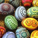 colored eggs (egyptian)