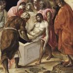 Jesus in tomb