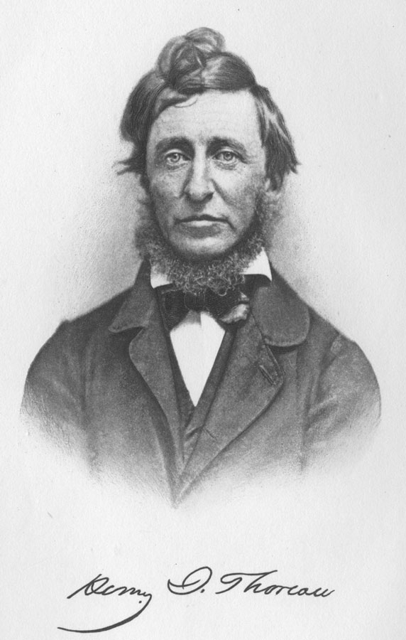 essays henry david thoreau