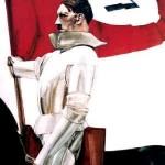 Hitler as knight