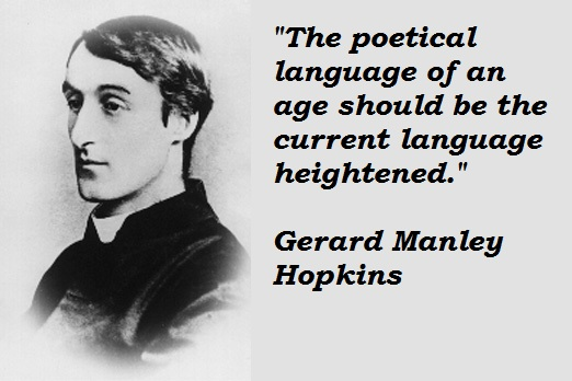 """an analysis of poetic devices in the windhover a book by gerard manley hopkins Gerard manley hopkins the priest - poet and his archaically original modern verse 111 the analysis of """"the windhover."""