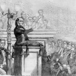 Theodore Parker Preaching