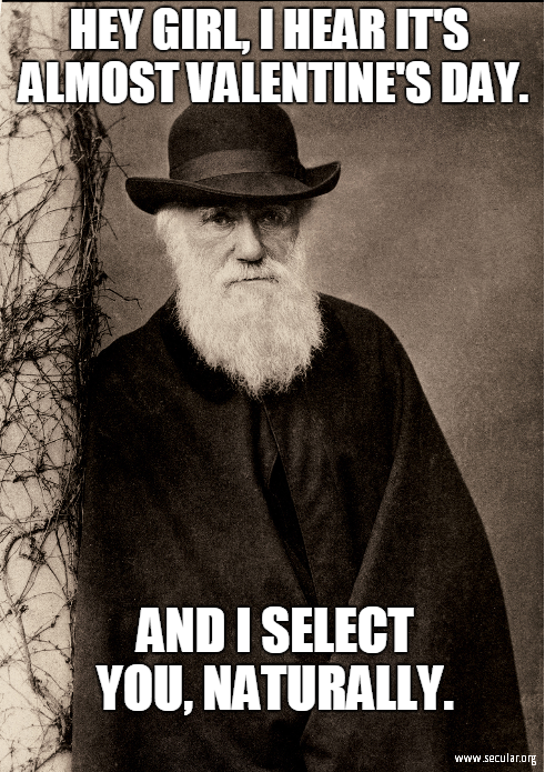 The Heavens Cry out in Joy: Charles Darwin is Born on this Day!