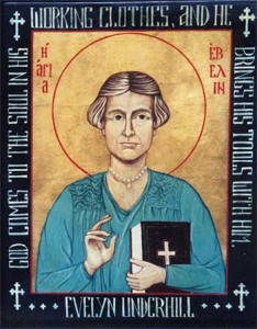 evelyn underhill icon by suzanne schleck