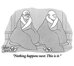 I Used to be Really Important: A Zen Meditation