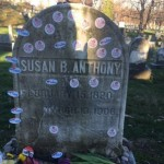 A Brief Meditation on that Photograph of Susan B Anthony's Gravestone