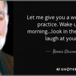 Thinking of Zen Master Bernie Glassman on his Seventy-Eighth Birthday