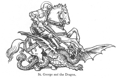 The Truth About George & the Dragon, Long Suppressed, but Now Revealed