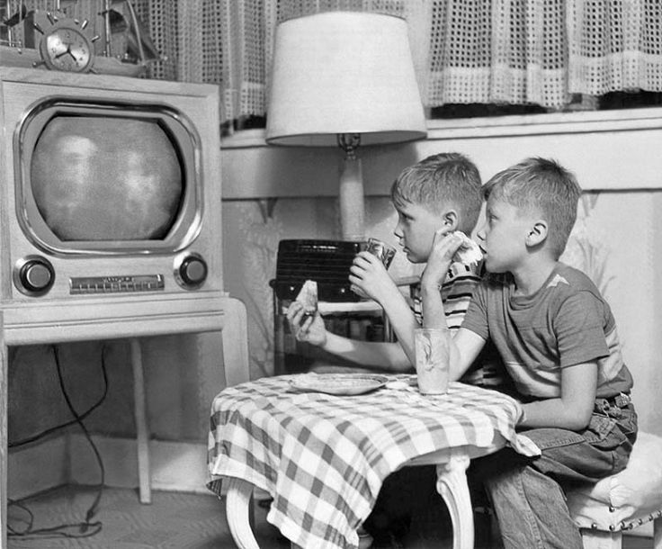 Image result for kids TV 1950s
