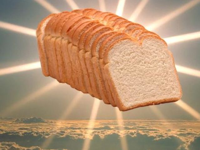 machine sliced bread