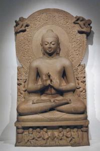 Teaching Buddha, Sarnath, India, 4th cent. CE