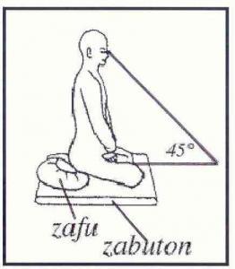 zazen posture 2