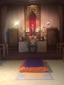 LBBC altar