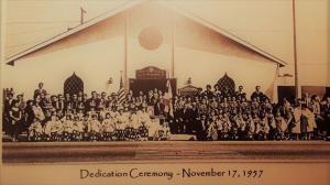 Long Beach Buddhist Church dedication