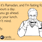 The Fasting Project – Hopefully More Than Ramadan Tourism (List of Posts)