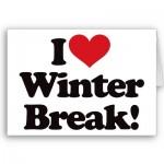 Winter Break in Autism Land