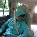 Daanish in the car