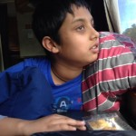 Daanish on the RV