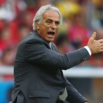 Algerian Coach Vahid Halilhodzic. Photo courtesy of Getty.
