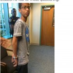 Public tweet about Ahmed Mohamed