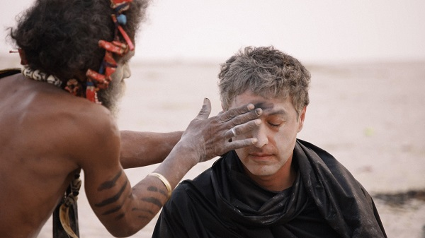 Believer with Reza Aslan - Aghori ashes on the forehead.