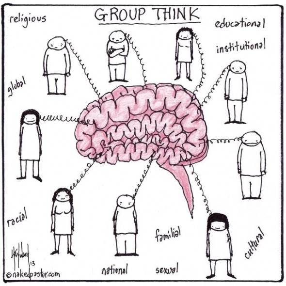 an analysis of the groupthink concept Groupthink is a concept identified by irving janis in the 1980s and refers to faulty decision-making in a group groupthink as defined by janis is a mode of thinking that people engage in when they are deeply.