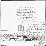 breaking in the pastor or the church cartoon by nakedpastor david hayward