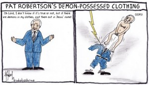 evil spirits in your clothes cartoon by nakedpastor david hayward