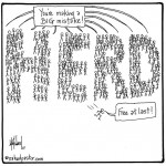 escape the herd cartoon by nakedpastor david hayward