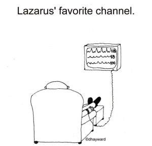 """Lazarus' Favorite Channel"" by nakedpastor David Hayward"