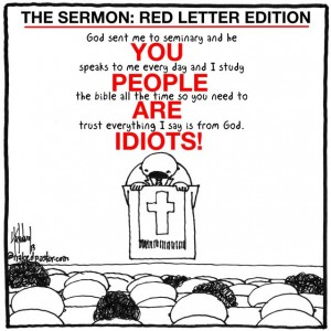 """The Sermon Red Letter Edition"" by nakedpastor David Hayward"