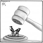 the grave gavel and same sex marriage cartoon by nakedpastor david hayward