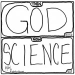 god versus science cartoon by nakedpastor david hayward