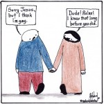i think i'm gay cartoon by nakedpastor david hayward