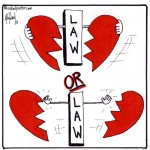 does the law have power over love cartoon by nakedpastor david hayward