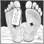 the death of god cartoon by nakedpastor david hayward