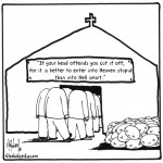 if you head offends you cartoon by nakedpastor david hayward