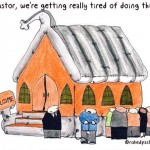 keeping the church inflated