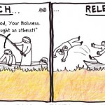 catch and release pope vatican fishers of men cartoon by nakedpastor david hayward