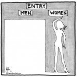 entry men women cartoon by nakedpastor david hayward